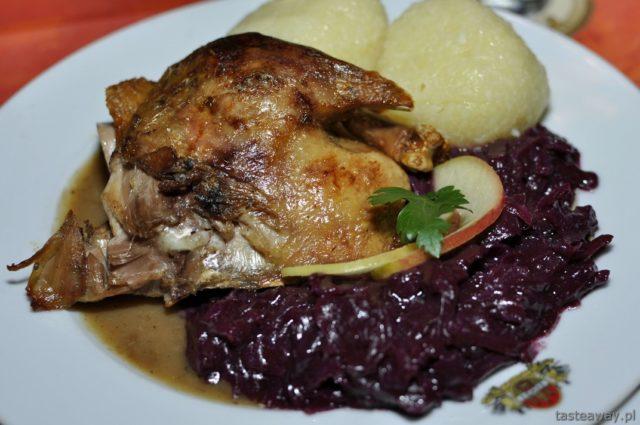 kaczka, Drezno, kuchnia niemiecka, jarmarki świąteczne