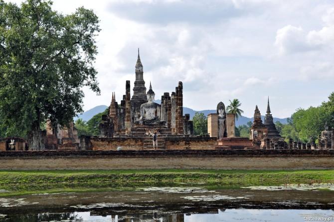 Tajlandia, co zobaczyć w Tajlandii, Sukhothai