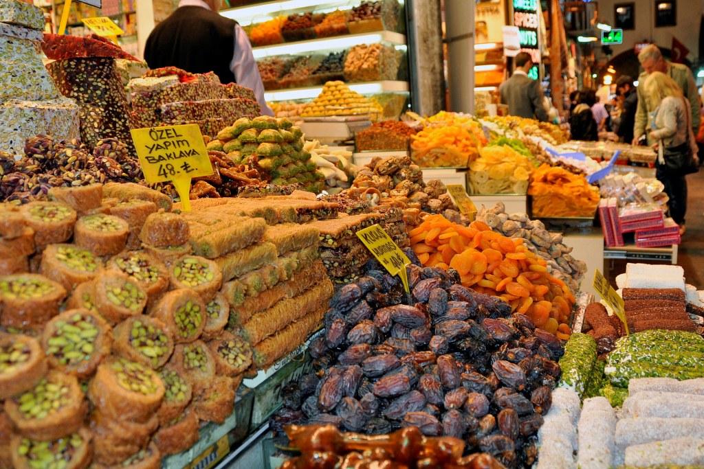 trochę tureckich słodyczy...