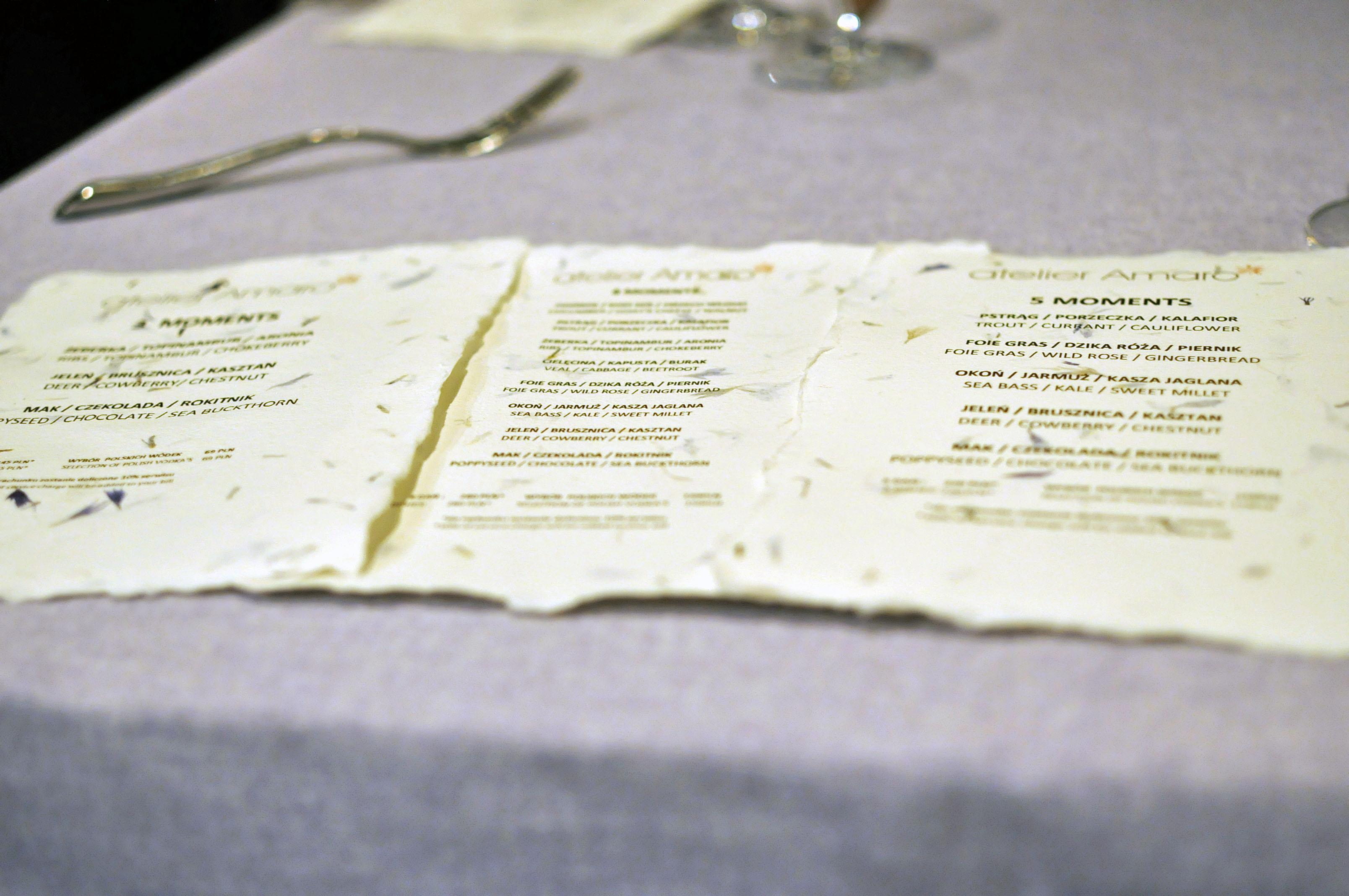 Kulinarny Spektakl W Atelier Amaro Recenzja Kulinarna Na Tasteaway Pl
