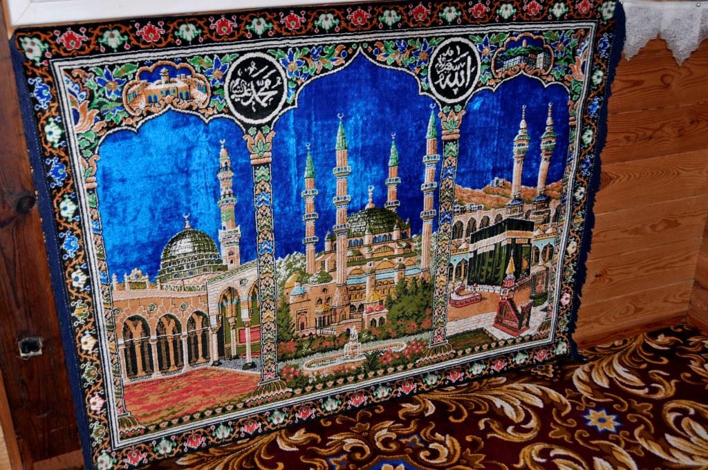 meczet w Bohonikach - wnętrze
