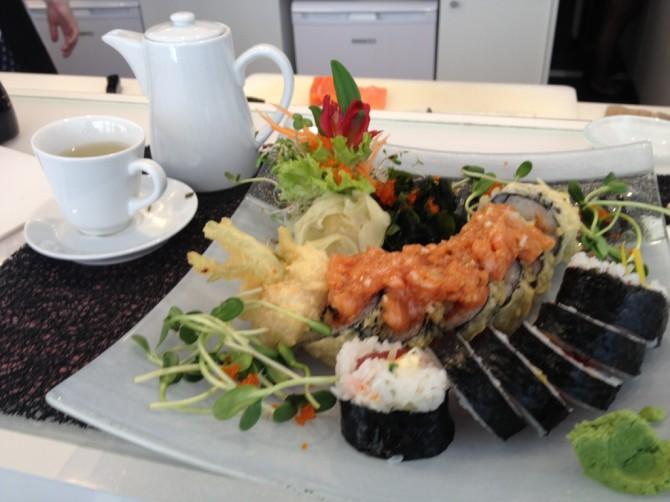 Soto Sushi Wilcza, zestaw lunchowy sushi