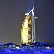 Dubaj, Zjednoczone Emiraty Arabskie, luksusowe hotele, durdż Al-Arab