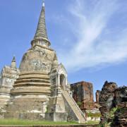 Ayutthaya, okolice Bangkoku, zabytki Tajlandi, dawna stolica Tajlandii