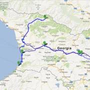 Gruzja w 7 dni, tydzień, trasa po Gruzji