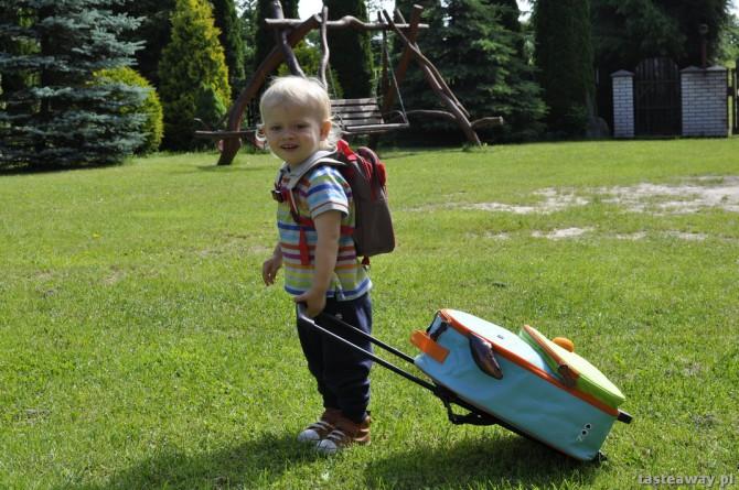 walizka dla dziecka, plecak dla dziecka
