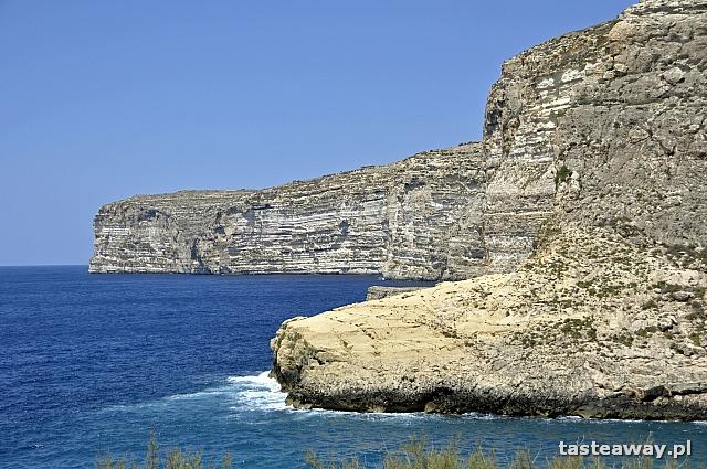 klify, Xlendi, Gozo