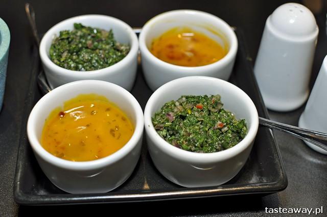 salsa de mango i salsa chimichurri, El Caribe, kuchnia kubańska