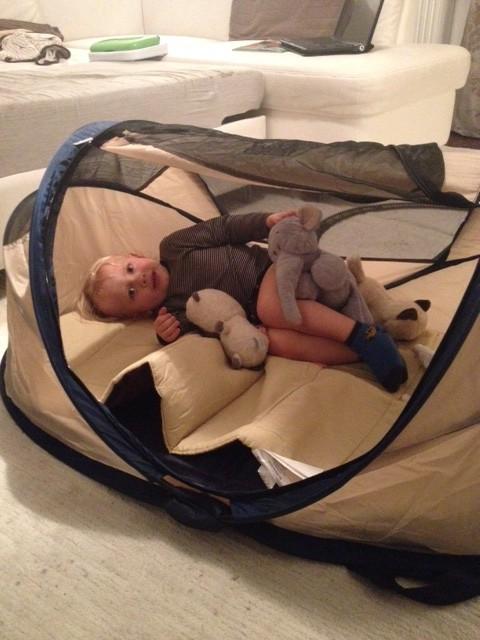 łóżko-namiot, Deryan, podróżowanie z dzieckiem