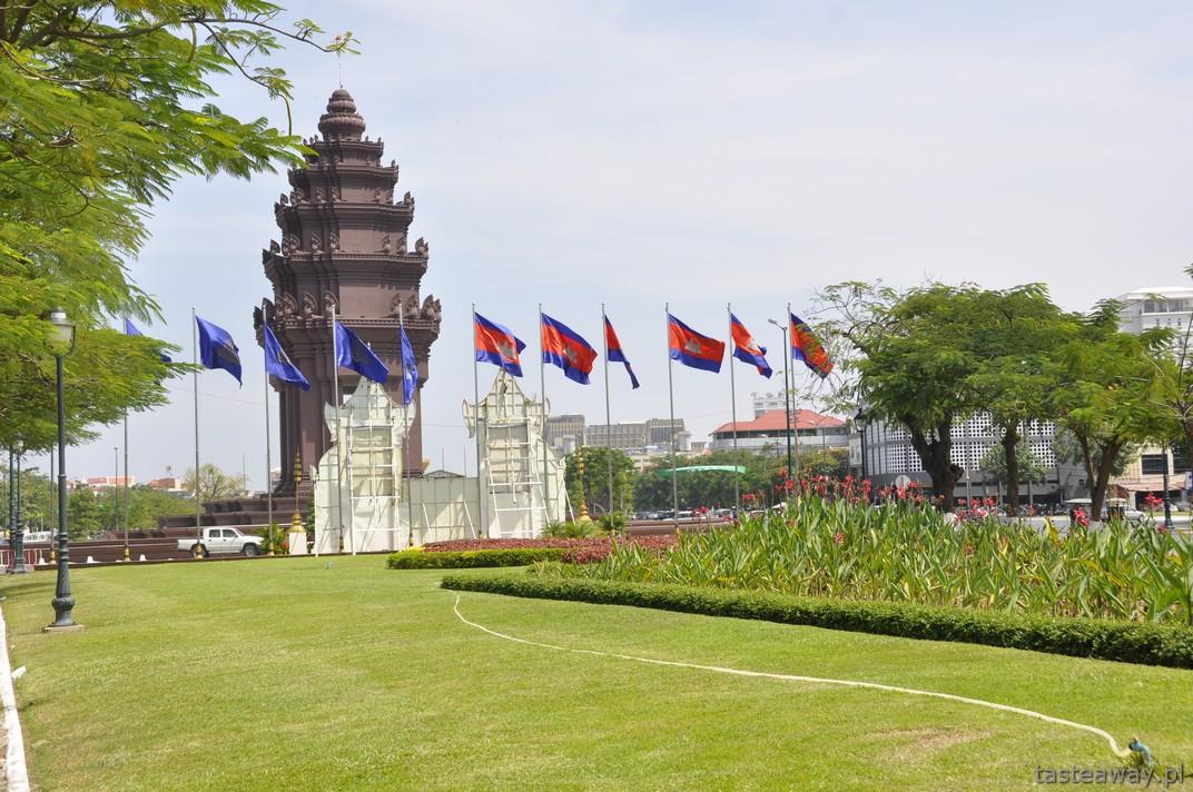 Phnom Penh, Kambodża, Pomnik Niepodległości