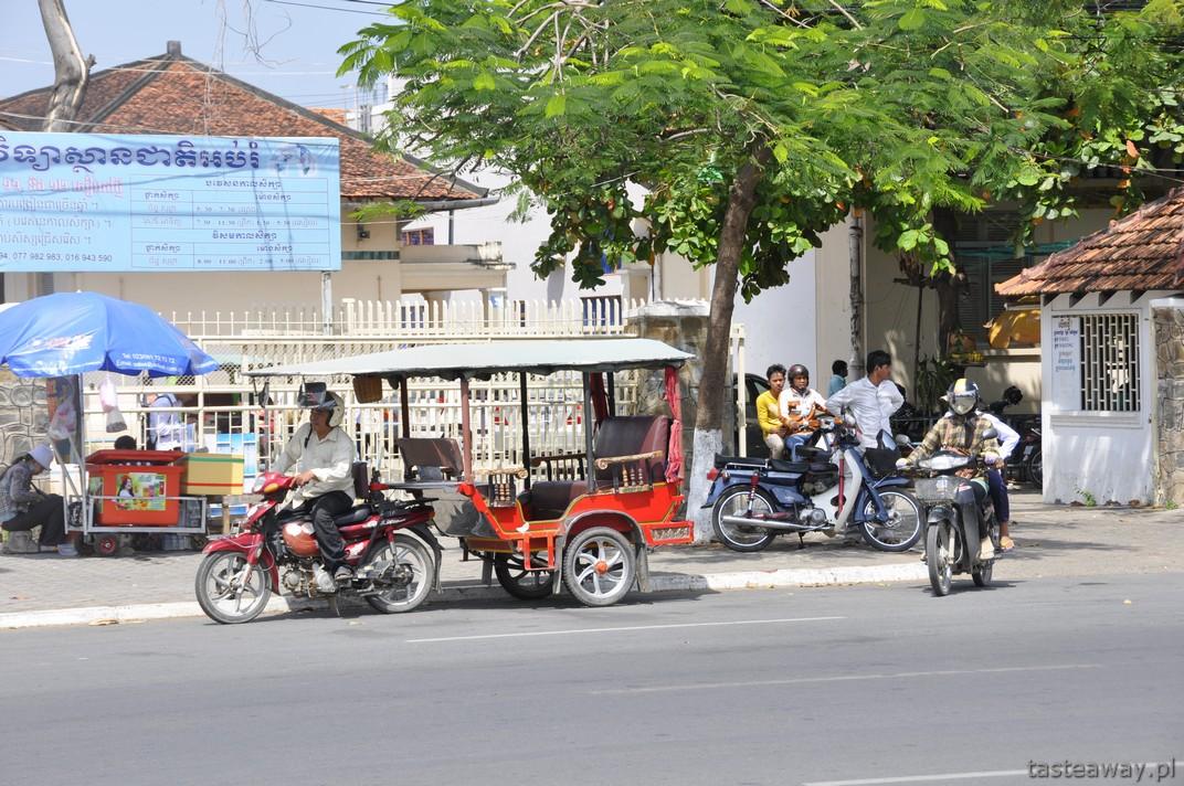 tuk tuk, Kambodża, Phnom Penh