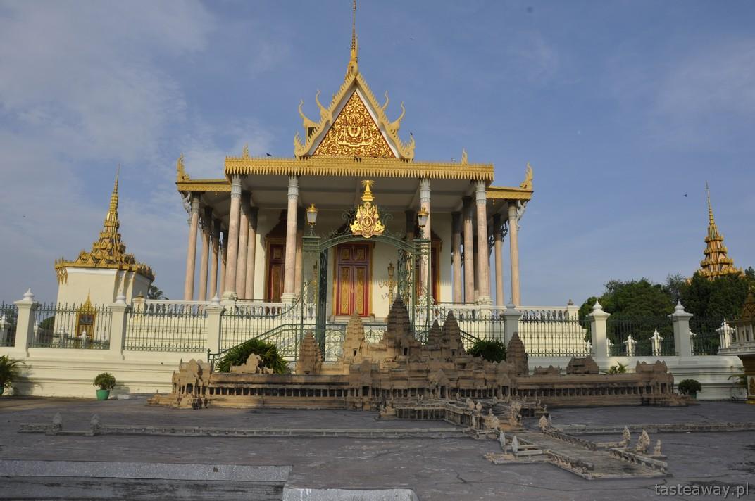 Srebrna Pagoda, Phnom Penh, Kambodża