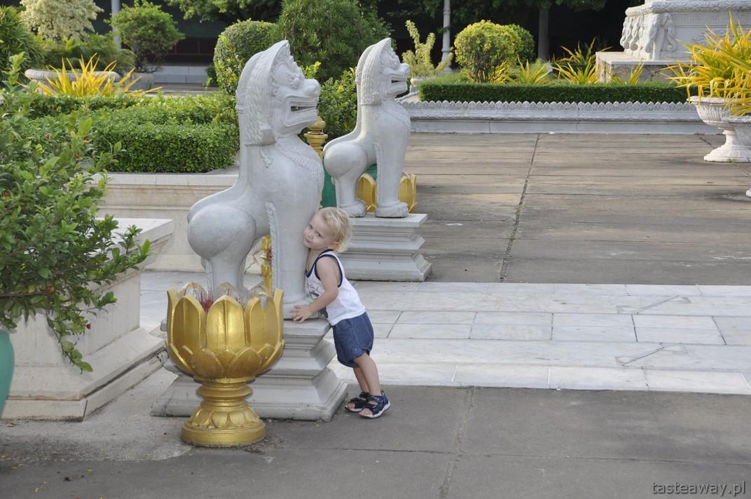 Phnom Penh, Kambodża, Pałac Królewski