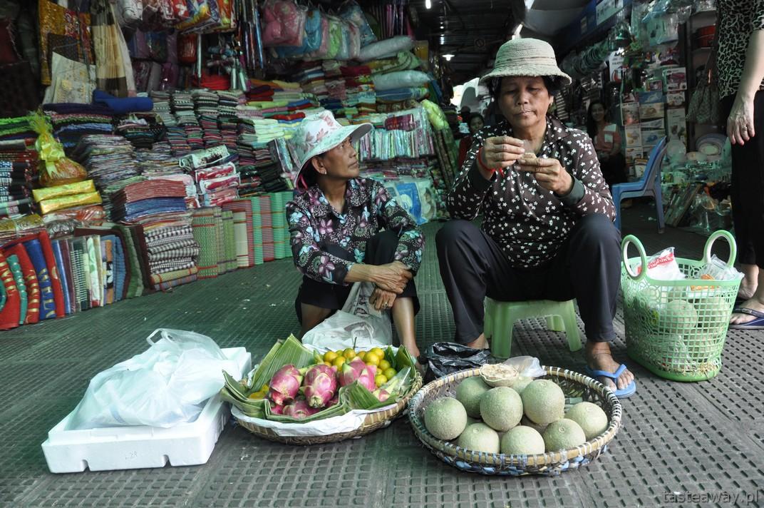 Central Market, Phnom Penh, Kambodża
