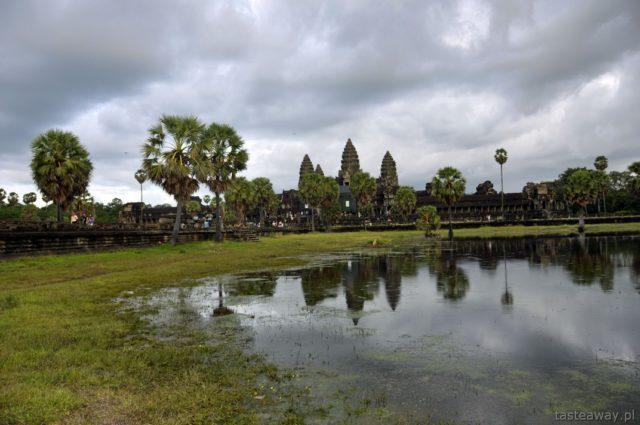 Kambodża, Angkor Wat, Siem Reap