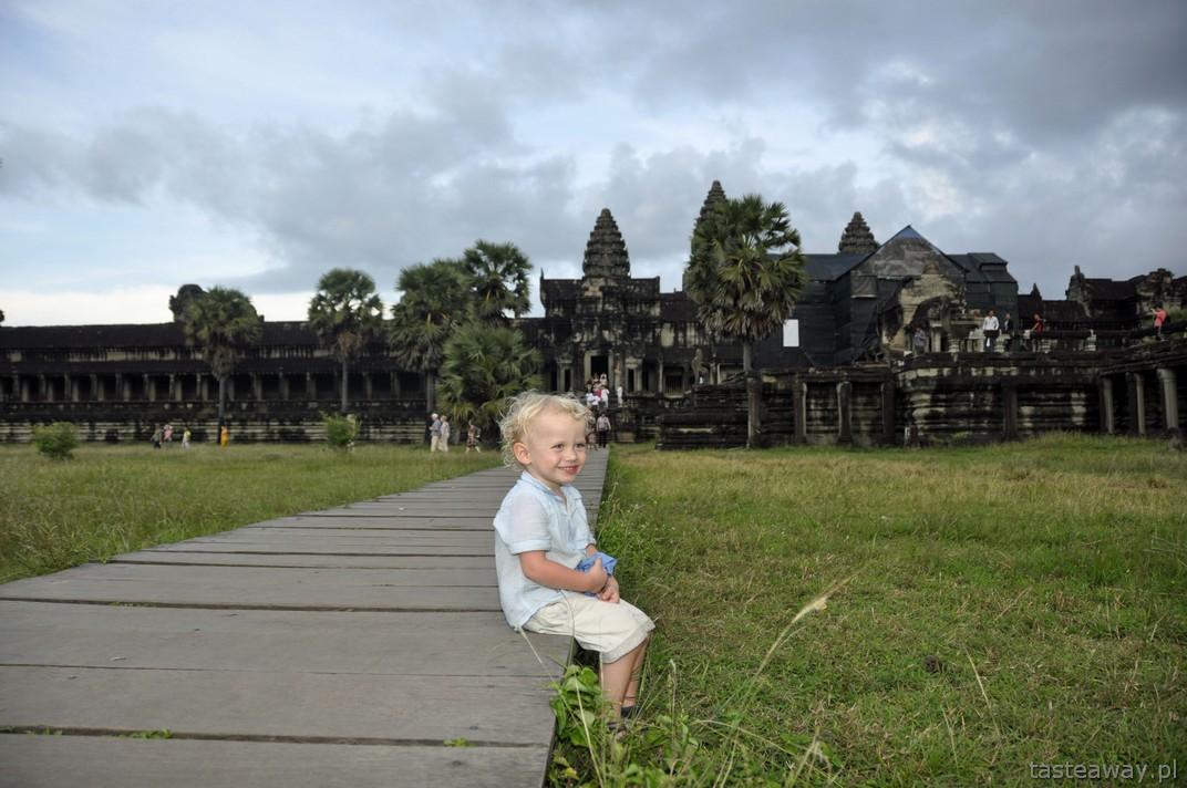 podróżowanie z dzieckiem, Angkor Wat