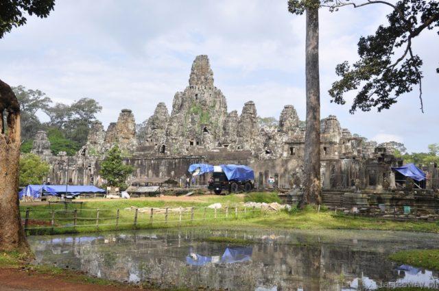 Bayon, Angkor, Kambodża, Siem Reap