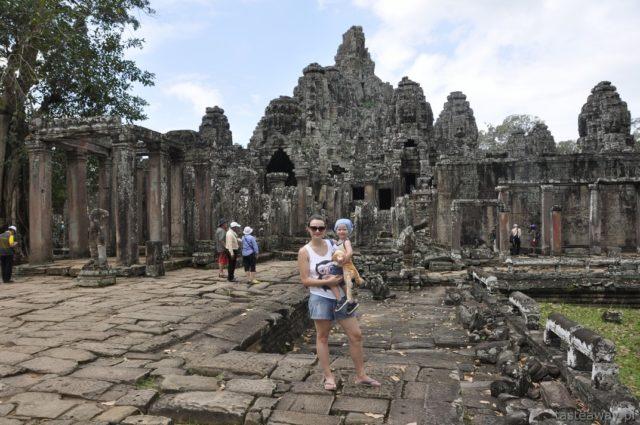 Kambodża, Siem Reap, Angkor Thom, Bayon