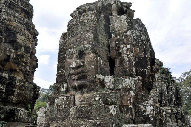 Bayon, Kambodża, Siem Reap