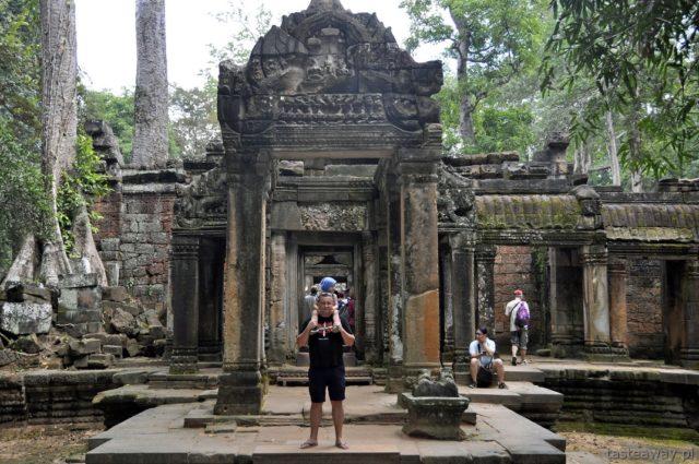 Ta Phrom, Kambodża, Siem Reap, Angkor