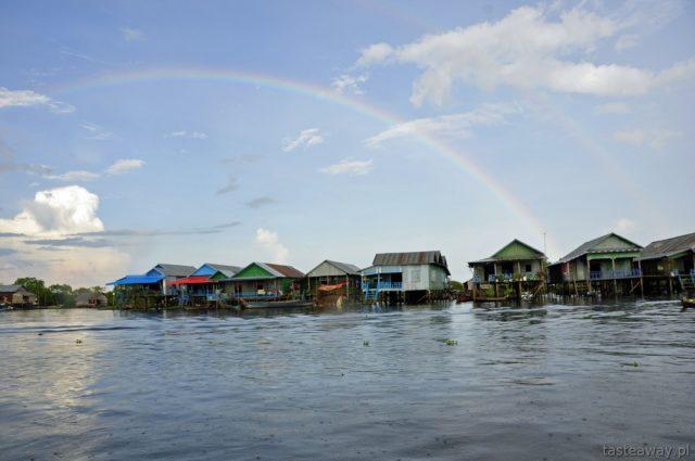 Kambodża, Siem reap, Tonle Sap, pływające wioski, Kompong Phluk