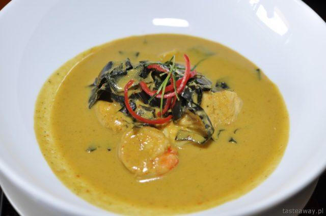 amok, Kambodża, Siem Reap, kuchnia khmerska, AHA restaurant
