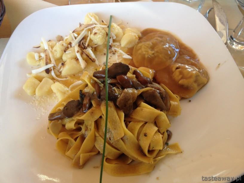 gniocchi, ravioli, Południowy Tyrol, wędzona ricotta