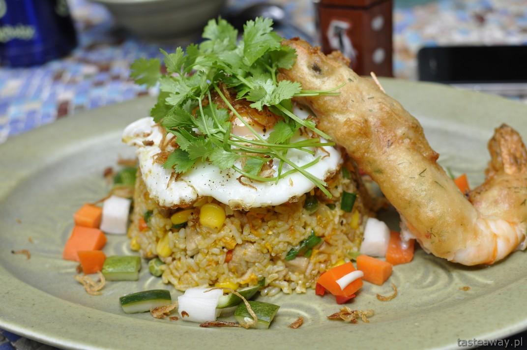 ryż smażony, Madame Hien, Hanoi