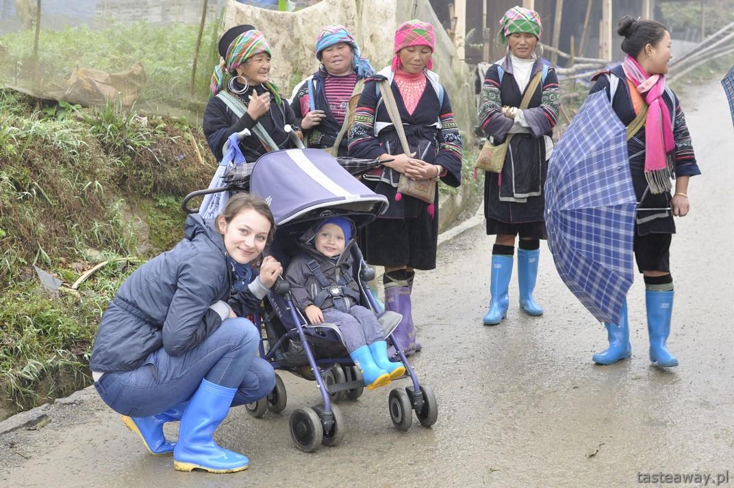 Sa Pa, Wietnam, podróżowanie z dzieckiem