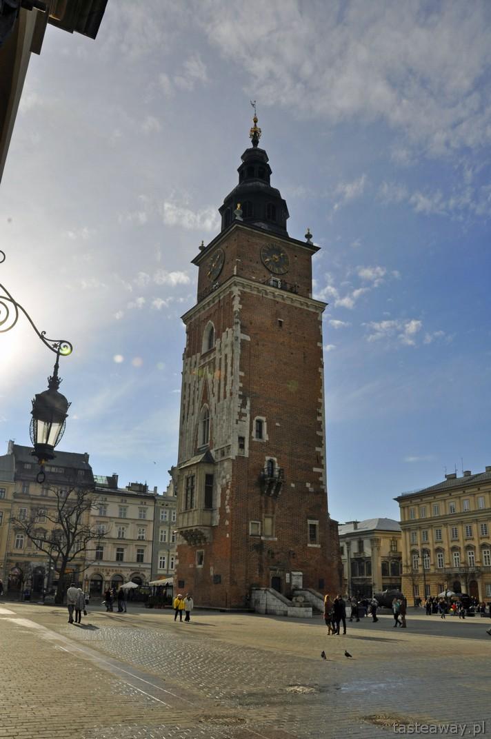 Wieża Ratuszowa, Kraków, rynek, pomysł na weekend