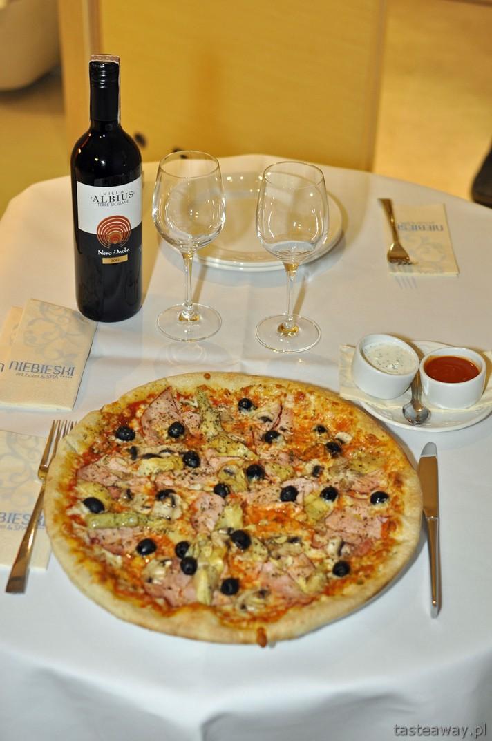 pizza, Hotel Niebieski Kraków