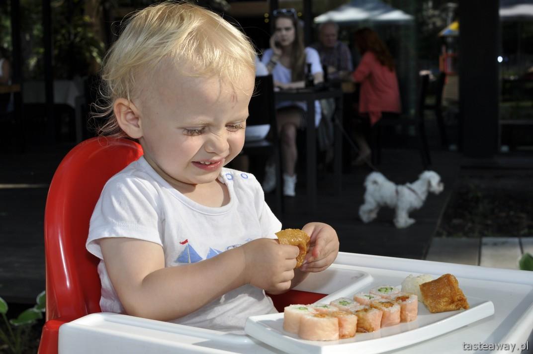 Warszawa, sushi, sushi z dzieckiem