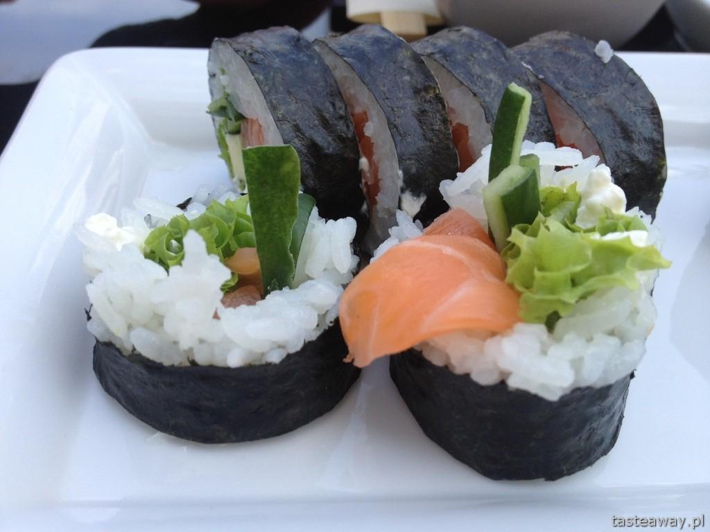 sushi, Warszawa, najlepsze sushi w Warszawie