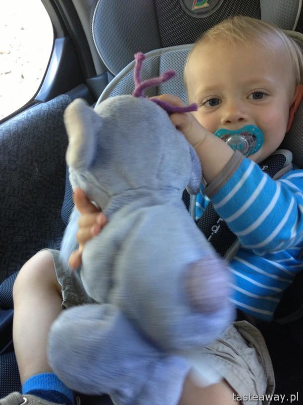 podróżowanie z dzieckiem, dziecko w samochodzie