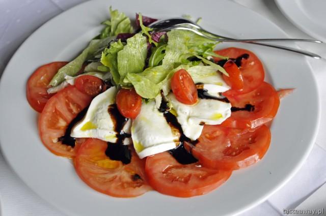 mozzarella, Caprese, Bufala, kuchnia włoska, Le Cahlet, Murzasichle
