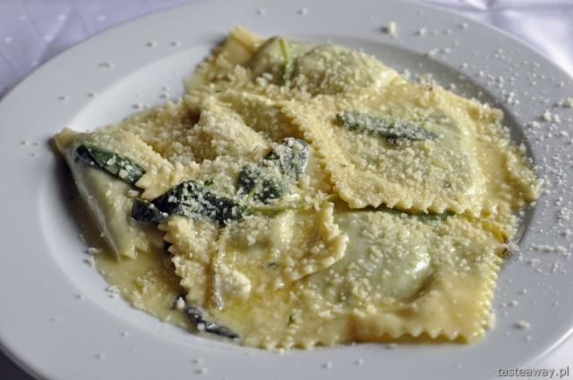 tortelli di erbetta, Murzasichle, Le Chalet, kuchnia włoska, Podhale