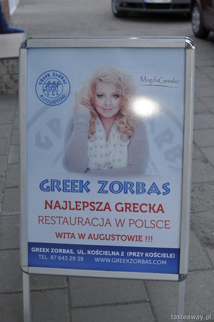 Augustów, Greek Zorbas, Magda Gessler, Kuchenne Rewolucje