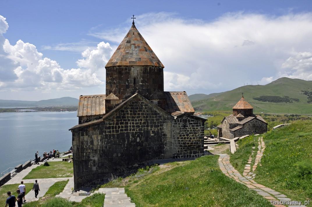 Czarny Klasztor - Sewanawank, jezioro Sewan, Armenia, Kaukaz, co zobaczyć w Armenii