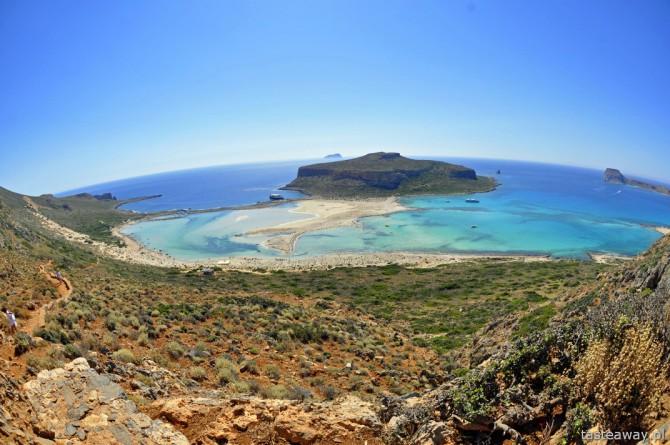 Balos, Kreta, Grecja, najpiękniesze plaże Europy