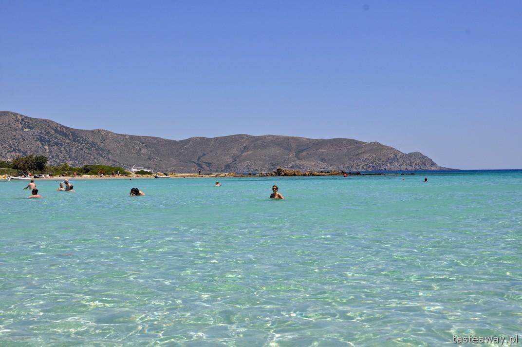 Kreta, Elafonissi, plaża, najpiękniejsze plaże Europy