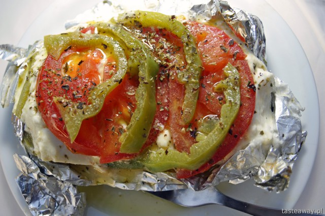 grillowana feta, Kreta, Grecja, kuchnia grecka, feta