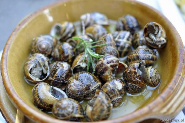 ślimaki, Plakias, Grecja, Kreta, kuchnia grecka