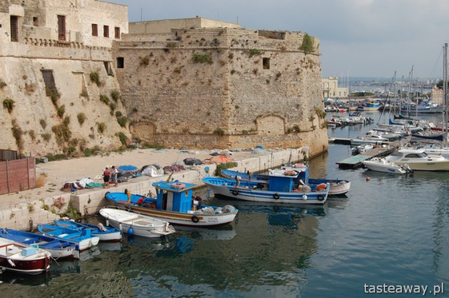 Gallipoli, Italy, fishermen's town, South ITaly