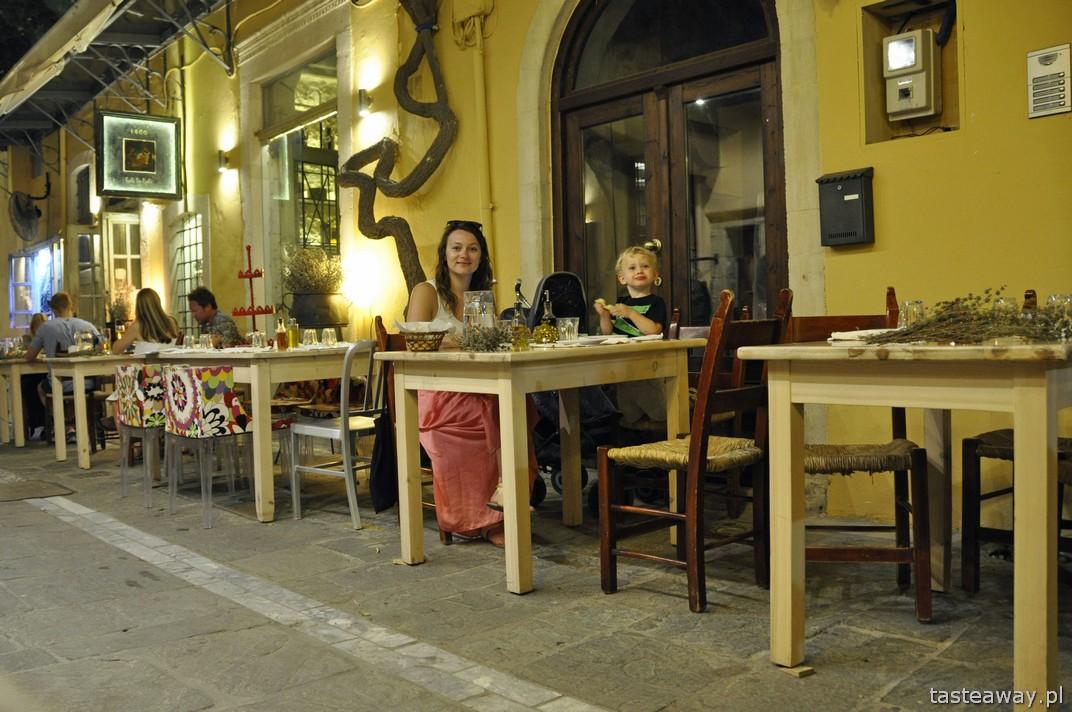 Kreta, tawerna Raki Baraki, Rethymnon, kuchnia grecka, gdzie jeść na krecie