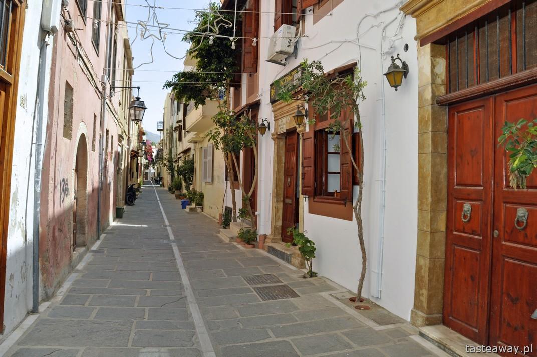 Kreta, Rethymnon, urokliwe uliczki, spacerem po Rethymnonie