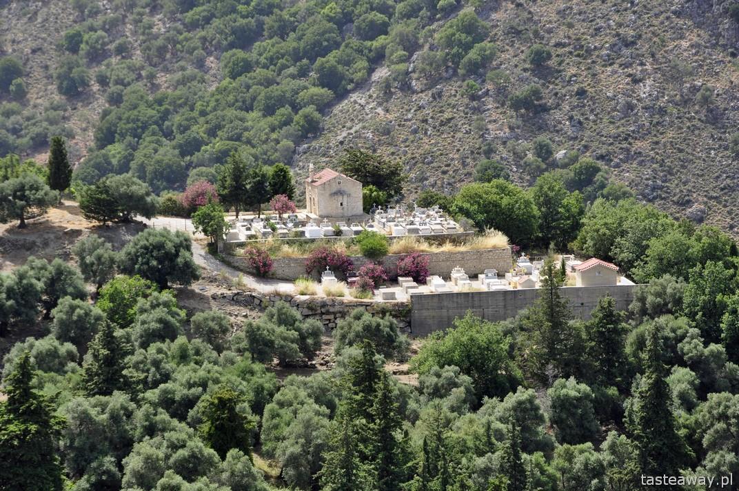 Kreta, góry, górskie wioski, podróżowanie po Krecie, Kreta samochodem
