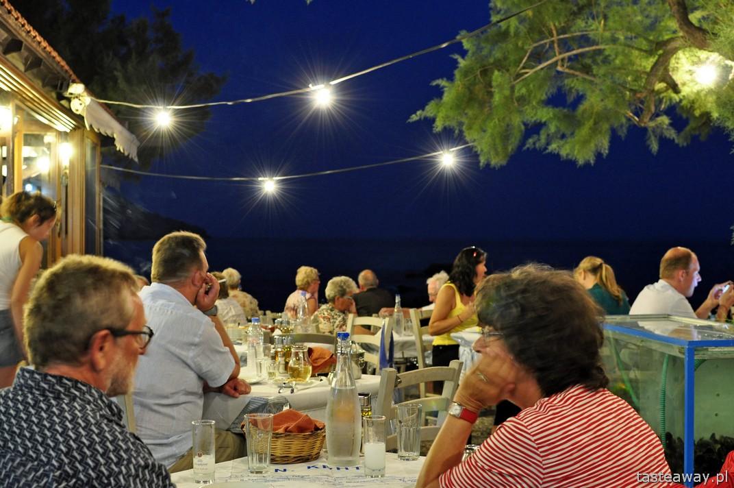 Kreta, restauracje, tawerna Gio Ma, Plakias