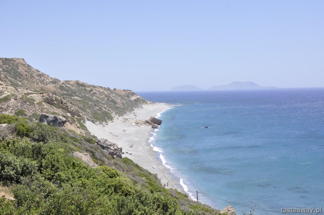 Kreta, dzikie plaże, Ligres Beach