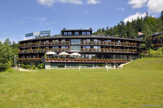 best hotels in Poland, Hotel SPA dr Irena Eris Krynica Zdrój, Beskid Sądecki, Poland, mountains