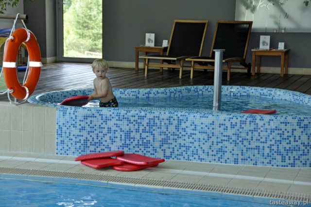 best hotels in Poland, Hotel SPA dr Irena Eris Krynica Zdrój, swimming pool in the hotel, Beskid Sądecki, luxurious hotels in Poland